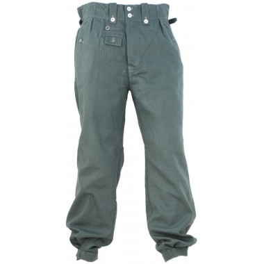 Pants trousers summer fatigue Drillich 1942-45