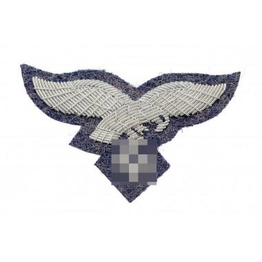 Eagle for Luftwaffe officer peaked or side-cap