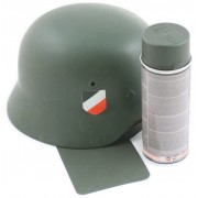 Aerosol paint for German helmets