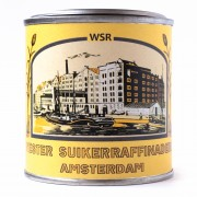 Sugar jar tin Wester