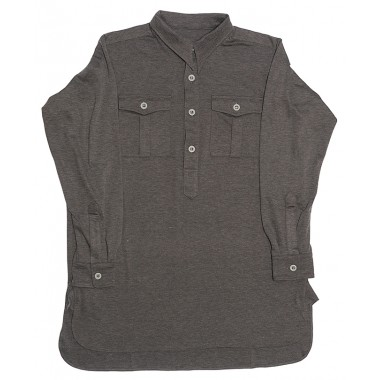 Jersey shirt with pockets