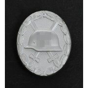 Wound badge silver