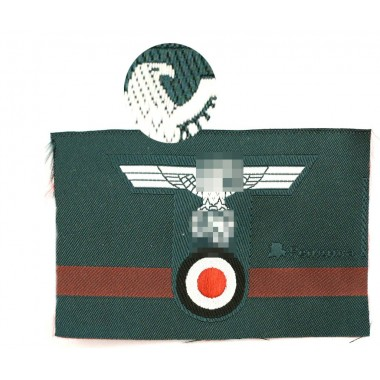 Jäger cap insignia T-shape