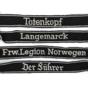 SS officer armbands
