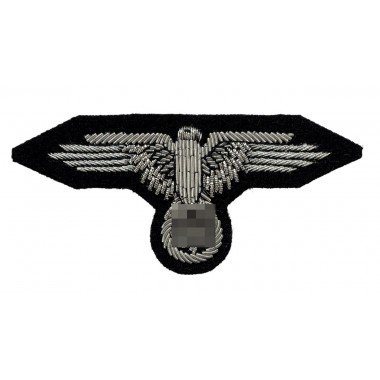 SS officer's sleeve eagle