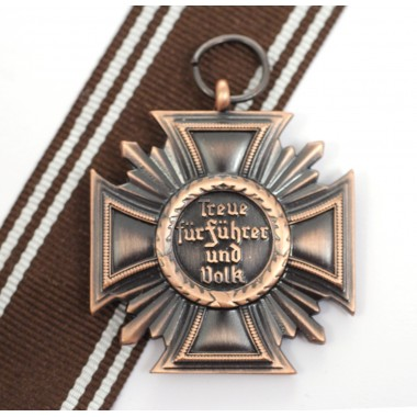 Cross for 15 years in party