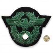 Eagle arm police insignia green