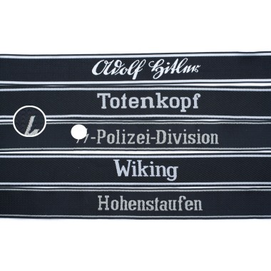 SS divisions' bands for enlisted