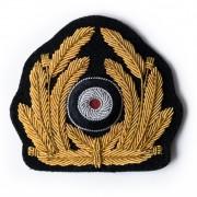 Bullion wreath for Kriegsmarine officer peaked-cap
