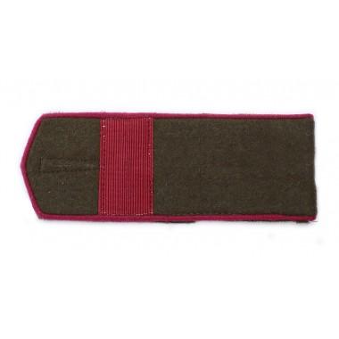 RKKA shoulder boards: senior sergeant of infantry