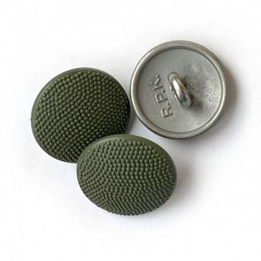 Button 19 mm for field jacket zinc