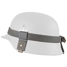 Strap for camouflage on helmet
