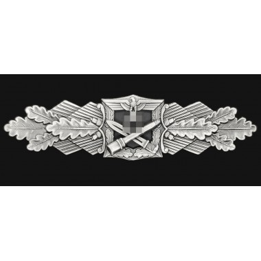 Close Combat clasp (Heer, silver)