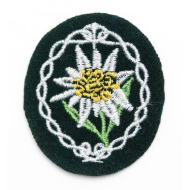 Wehrmacht mountain troops' insignia — Edelweiss