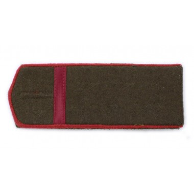 RKKA shoulder boards: private 1st class of artillery or armoured