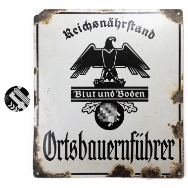 Collection of German street signs and signboards