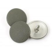 Button 19 mm for field jacket aluminium