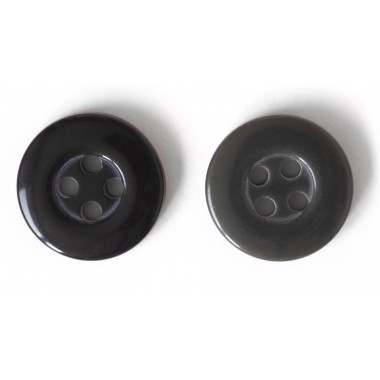 Button 14 mm 4 holes plastic for clothing