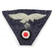 Luftwaffe cap insignia eagle and skull trapezoid