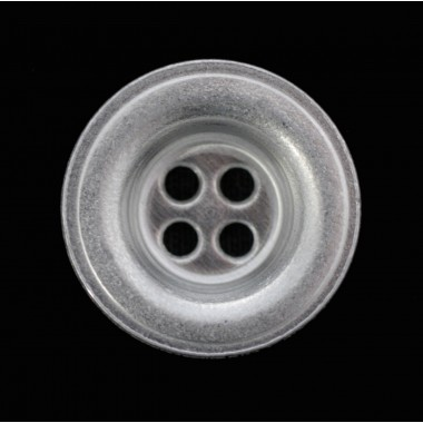 Alu button for clothes