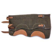 Gaiters variant 1 late, brown leather