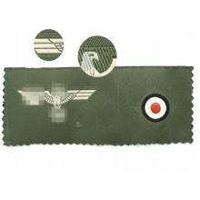 Heer side-cap insignia set eagle + cockade 1940
