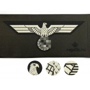 Heer Panzer breast eagle