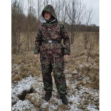Winter jacket parka Blurred Edge spring pattern 1943-45
