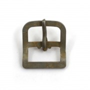 Buckle for chinstrap - steel