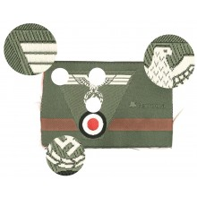 Wehrmacht cap insignia trapezoid