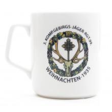 Mug Christmas 1935 mountain regiment 99