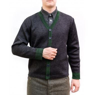 Sweater jumper with buttons