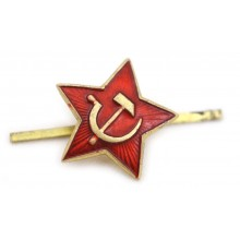 Red star for USSR side-cap 24 mm