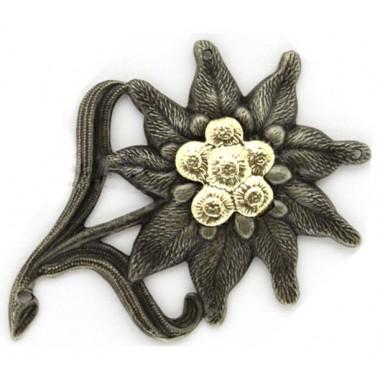 Edelweiss of metal