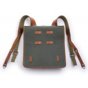 Satchel / backpack of the Red Army 1936 with green kersey cover