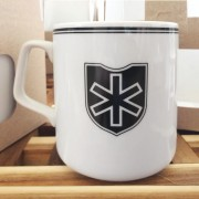 Mug of the 6th SS mountain Nord Division 330 ml