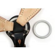 Rear central ring for infantry Y-strap